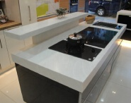 Italian kitchen solid polymer countertops/lowes bathroom counter tops with good price