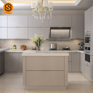High Quality Cut to Size artificial stone kitchen counter top for sale