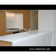Farm style freestanding kitchen sink countertop solid surface worktop