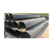 Hot Sell Hot Quality Fashionable Design ASTM A53 high carbon steel pipe round steel welded tube DN700