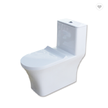 Bathroom Toilets With One Piece Siphon Flush Structure