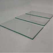 5mm Thick Clear Float Glass big plate glass curtain walls construction and building glass partition