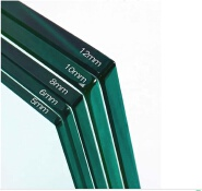 5mm Clear Tempered Building Glass 10.38mm laminate glass 12mm steel structure glass big plate