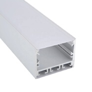 Aluminium Edging Strip Led Profile For Glass, Surface Mounted Frame Light Bar Extrusion