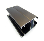 Extrusion aluminum profiles natural anodized for glass frame alloys sheet made in china best price