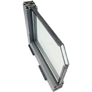 Hot Sale Double Tempered Insulated Glass Pane Hollow Double Glazing toughened Glass