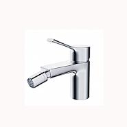 China sanitary ware brass single hole bidet sprayer hot cold water mixer