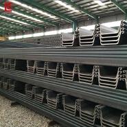 Cold Rolled Steel Sheet Pile EN & JIS Standards U Type Steel Sheet Pile for Construction