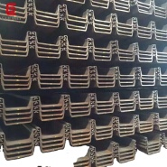 Cold/Hot Rolled Z/U Type Shape Used Metal Larsen Steel Sheet Pile Price