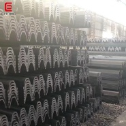 Hot Rolled Steel Profile U Section SY295 SY390 Grade Steel Sheet Pile