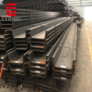 400*100 / 400*125 size U shape type hot rolled steel sheet pile Price made in China