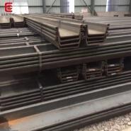 Hot rolled larsen SY295 SY390 U type used steel sheet pile on sale