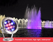Direct sales factory sales underwater swimming pool video light show light