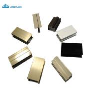 Extrusion aluminum profile chinese supplier electrophoresis extinction surface treatment