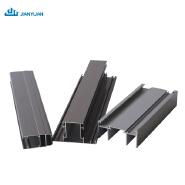 Manufacturer aluminium profile with electrophoretic extinction surface treatment for windows