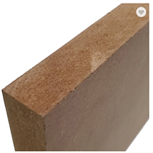 Good quality thick plain MDF board/ mdf doors board for indoor furniture