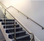 304/316 high quality stainless steel balustrade with customized size