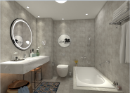 Brand New Quality Assured Latest Designs LED mirror/mirror M-ALN205