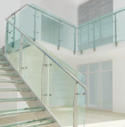 12mm solid stainless steel plate, 304/316 high quality stainless steel balustrade with customized size