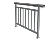 Aluminum high quality balustrade with customized size