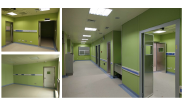 Hot Selling Good Quality Classic Design Bacteria proof/ moisture proof/fire proof hospital wall panel WCS-1