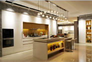 China Manufacturer customized design Mordern Middle density fiber board YKL-Kitchen-lacquer-002