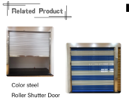 Hot Selling Good Quality Classic Design Stainless steel fire rated rolling garage door SSGD-1