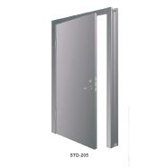 Professional Factory Supply China Manufacturer staircase Security UL BS certifated fire rated exit metal steel door STD-021