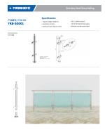 On Sale Premium Quality Good Design Stainless steel glass railing SG001