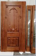 Sales Promotion High Quality Original Design China Manufacturer Exterior Solid Painted Panel Design Wooden door STD-020