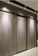 Promotions Top Grade customized design modern wardrobe with melamine YKL-Wardrobe-Melamine sliding door-001