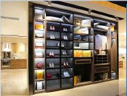 Hotselling Excellent Quality Nice Design Luxury and customized design modern YKL-Wardrobe-Walking in closet-002