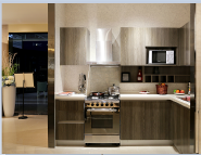 Bargain Sale Top Quality Fashion Designs Mordern Particle board Chipboard YKL-Kitchen-MFC-005