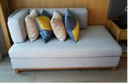 Top Selling Nice Quality Stylish Design fabric finish sofa guestroom sofa Sofa01