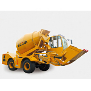 4 cubic meter Self Loading Mobile Concrete Mixer for sale in Lithuania