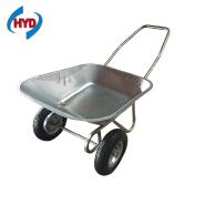 WB6211 Garden Use Tools 2 Wheels 58L 80kgs Load Capacity Wheel Barrow and Wheelbarrow