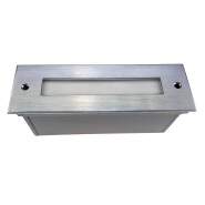 12w IP67 stainless steel linear underground light fitting