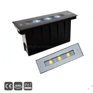 12w IP67 outdoor stainless steel led linear landscape inground lights