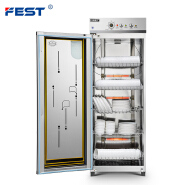 FEST Commercial Disinfection Cabinet Big Capacity Ozone Disinfection Sterilizing Cabinet Tableware Disinfection Cabinet