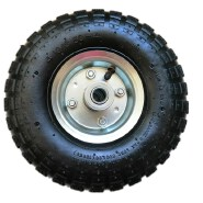 Trolley tire tube 4.10/3.50-4 with 4 layer rubber pneumatic wheel