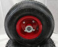 Powder Coating and metal hub pneumatic wheel barrow wheel Air tire inner tubes for trolley 4.10/3.50-4