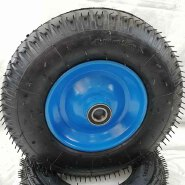 400mm pneumatic rubber wheel, air wheelbarrow wheel /4.00-8