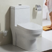 Modern design sanitary ware ceramic one piece toilets bathroom floor mounted chinese wc toilet