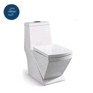 Sanitary wares floor mounted washdown ceramic one piece toilet with cheap prices for sale