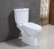 Special offer in stock for siphonic two piece s- trap toilet with low prices