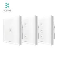 Konke iot solution provider light smart switch zigbee led panel for smart home