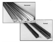 Slotted angle bar