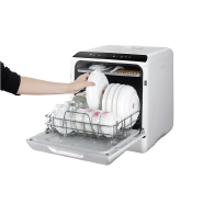 Small Portable Dishwashers Mini Automatic Compact Tabletop Dishwasher For Home