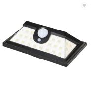 Custom Wide Lighting Area Outdoor Wireless 24 LED Motion Sensor Solar LED Garden Room Lawn Light