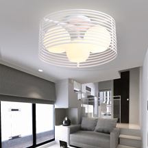 Black And White Color Simple Design Round Ceiling Lamp